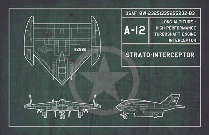 Picture of Fist of war USAF A-12 Strato-interceptor